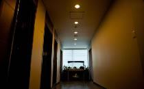 韩国江南第一整形外科医院走廊一角