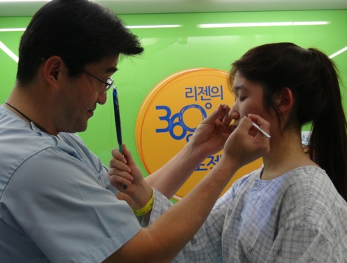 丽珍医疗集团献爱心 免费治疗先天颌畸形
