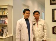 柬埔寨考察旅行团访问江南区整形外科医院
