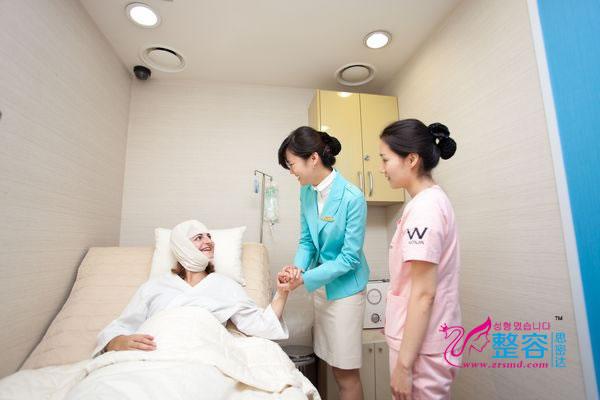 韩国原辰整形医院术后恢复