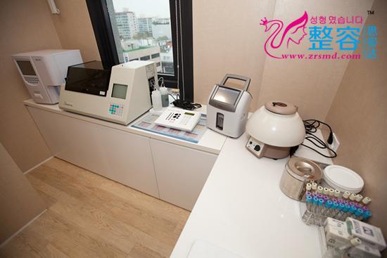 韩国MD整形医院血液检测室