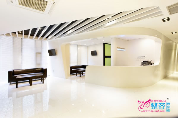 韩国丽珍整形医院护士站
