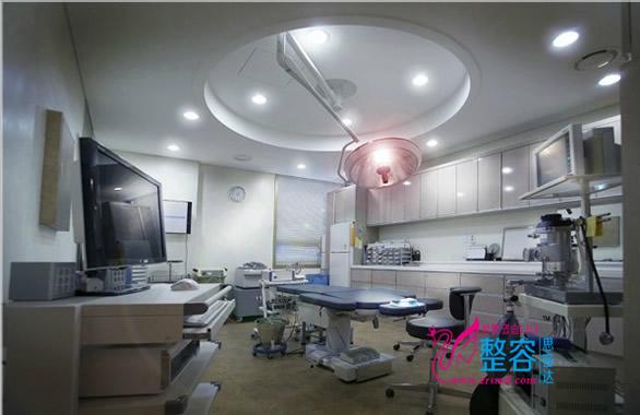 韩国延世白整形外科手术室
