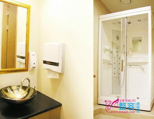 韩国橄榄整形外科医院洗漱室