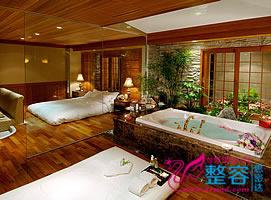 韩国imperial palace(皇宫)酒店温泉豪华客房