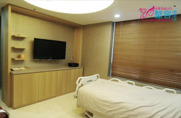 韩国春天整形医院恢复室