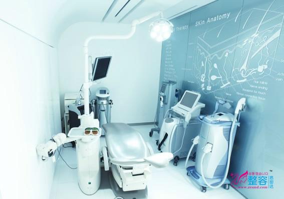韩国媄潾整形医院激光美肤室