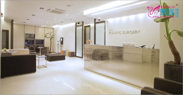 韩国NU整形外科医院大厅环境