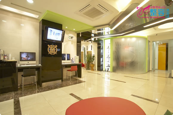 韩国一美知整形外科医院大厅
