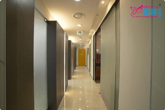 韩国一美知整形外科医院走廊