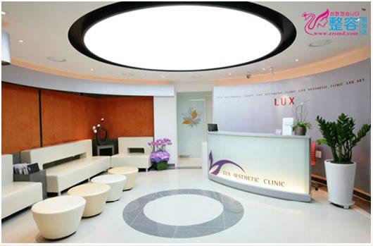 韩国LUX整形外科医院大厅