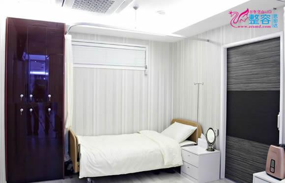 韩国具本埈整形医院恢复室