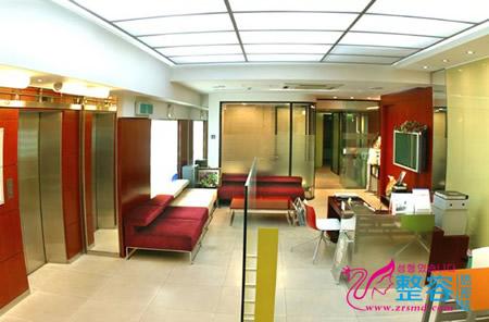 韩国optima整形医院大厅