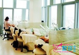 韩国CHOIS皮肤美容医院激光护理室