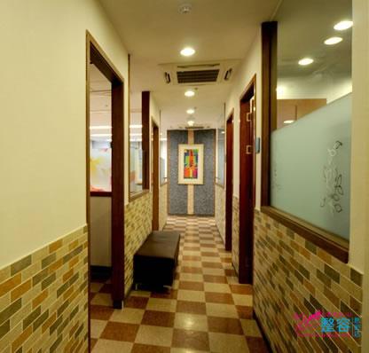 韩国姜韩皮肤科走廊