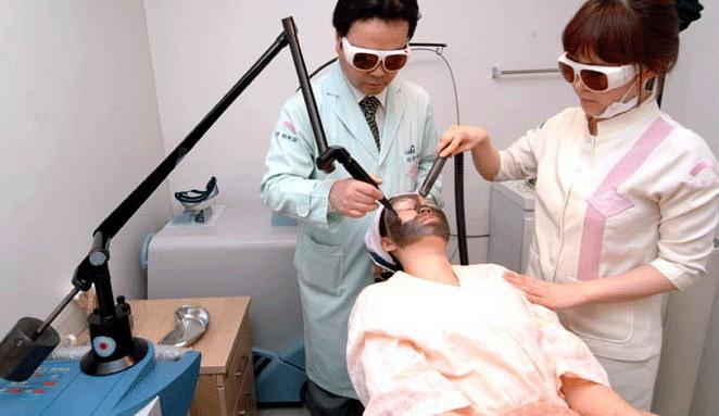 韩国姜韩皮肤科去黄褐斑过程