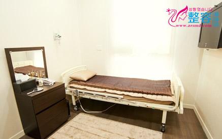 韩国A特整形中心恢复室