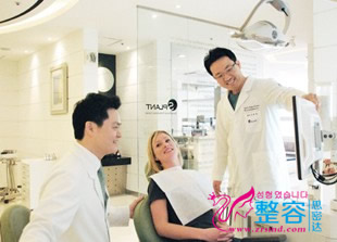 韩国Splant牙科医院治疗室