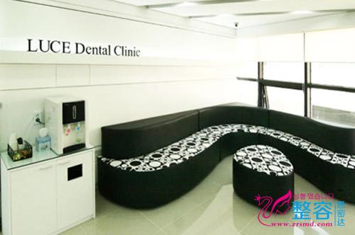 韩国露洁牙科医院休息大厅