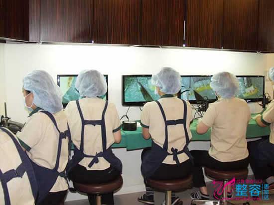 韩国狎鸥亭延世医院显微镜室