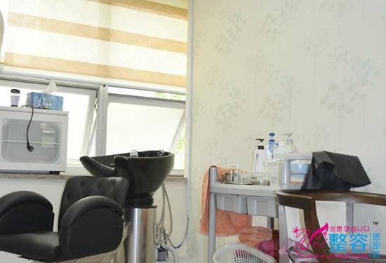 韩国毛林毛发移植中心头皮管理室